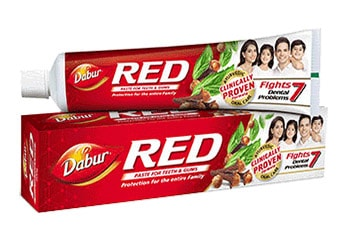 Red toothpaste – Herbal Toothpaste