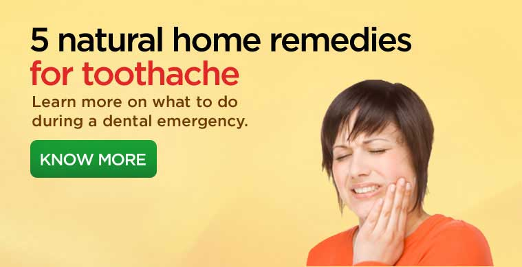 FourthSlide Home Remedies Toothaches