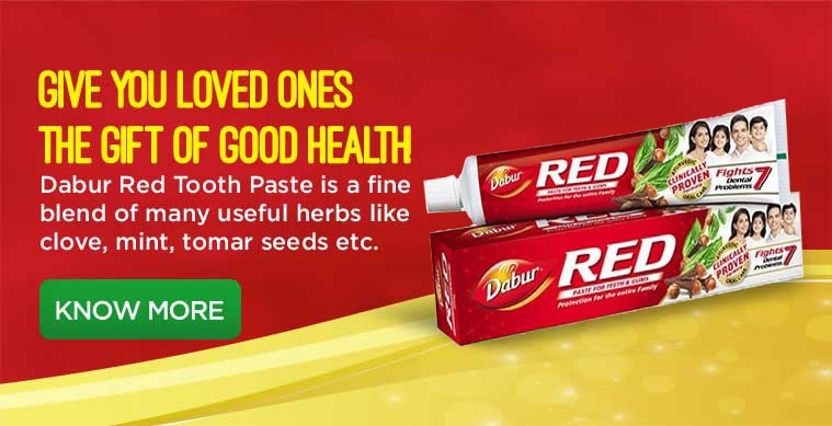 FifthSlide Dabur Red Paste